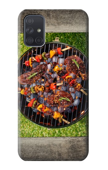 Printed Backyard BBQ Barbeque Party Samsung Galaxy A71 Case