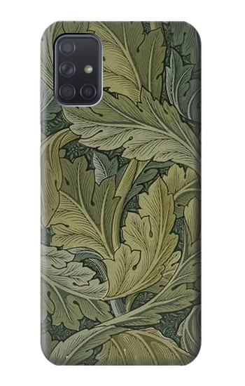 Printed William Morris Acanthus Leaves Samsung Galaxy A71 Case