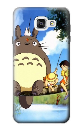 Printed Totoro and Friends Samsung Galaxy A7 (2016) Case