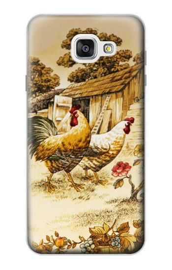 Printed French Country Chicken Samsung Galaxy A7 (2016) Case
