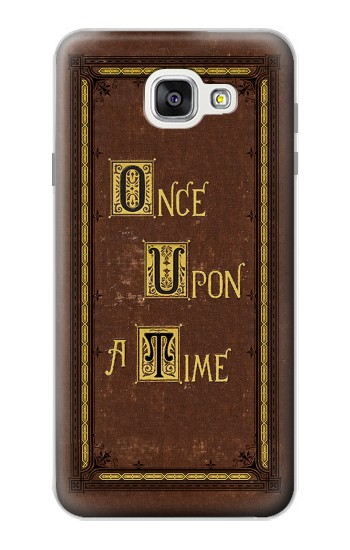 Printed Once Upon a Time Book Cover Samsung Galaxy A7 (2016) Case