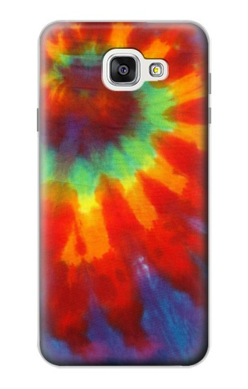 Printed Colorful Tie Dye Fabric Texture Samsung Galaxy A7 (2016) Case