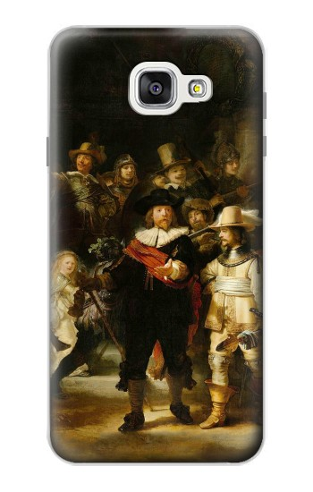 Printed The Night Watch Rembrandt Samsung Galaxy A7 (2016) Case