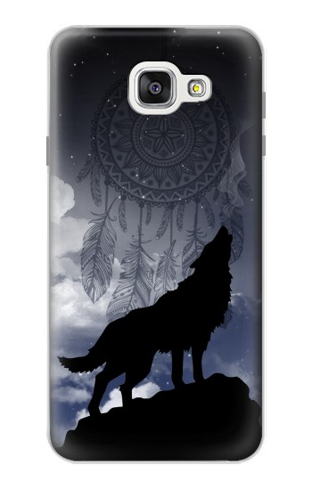 Printed Dream Catcher Wolf Howling Samsung Galaxy A7 (2016) Case