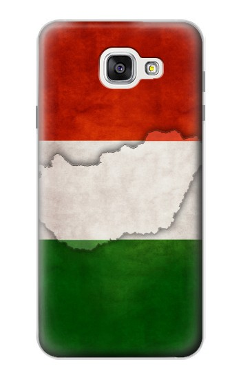 Printed Hungary Flag Samsung Galaxy A7 (2016) Case