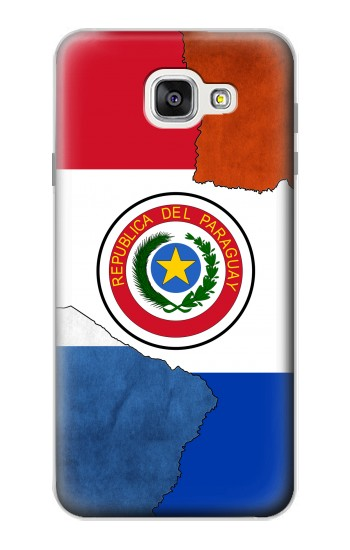 Printed Paraguay Flag Samsung Galaxy A7 (2016) Case