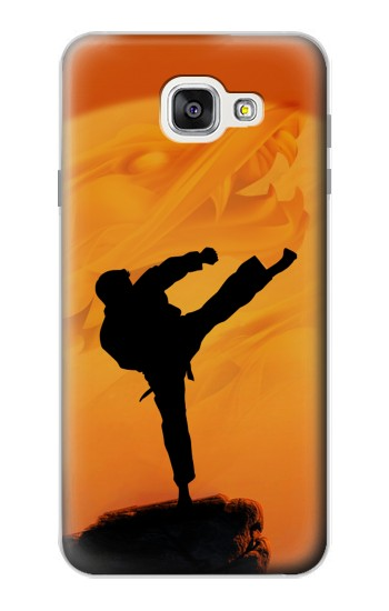 Printed Kung Fu Karate Fighter Samsung Galaxy A7 (2016) Case