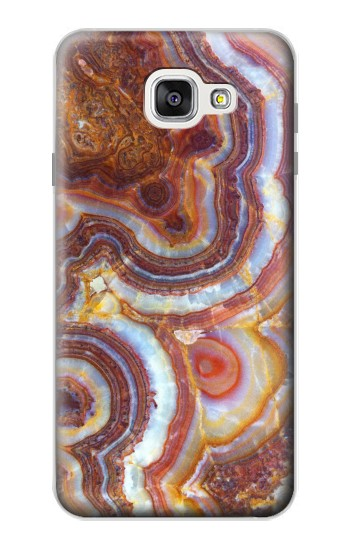 Printed Colored Marble Texture Printed Samsung Galaxy A7 (2016) Case