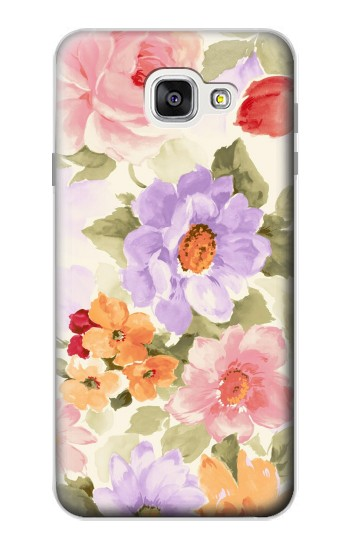 Printed Sweet Flower Painting Samsung Galaxy A7 (2016) Case