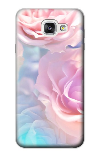 Printed Vintage Pastel Flowers Samsung Galaxy A7 (2016) Case