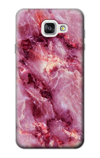 Printed Pink Marble Texture Samsung Galaxy A7 (2016) Case