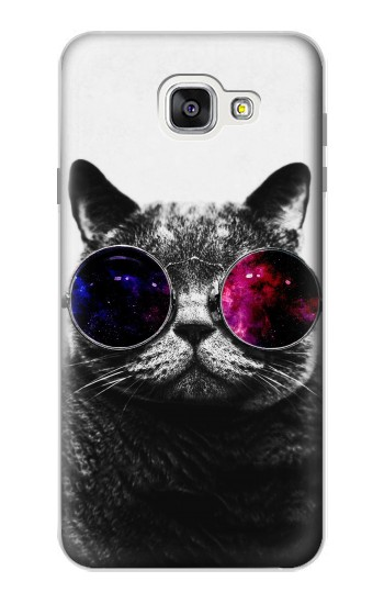 Printed Cool Cat Glasses Samsung Galaxy A7 (2016) Case
