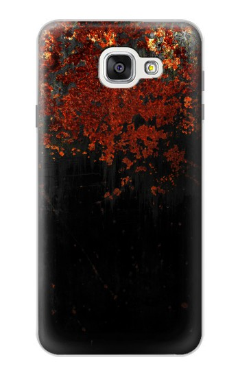 Printed Rusted Metal Texture Samsung Galaxy A7 (2016) Case