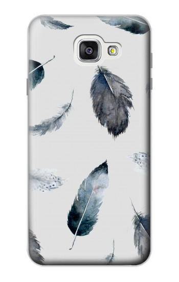Printed Feather Paint Pattern Samsung Galaxy A7 (2016) Case
