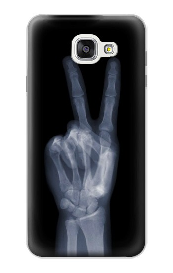 Printed X-ray Peace Finger Samsung Galaxy A7 (2016) Case