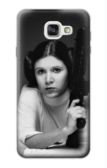 Printed Princess Leia Carrie Fisher Samsung Galaxy A7 (2016) Case