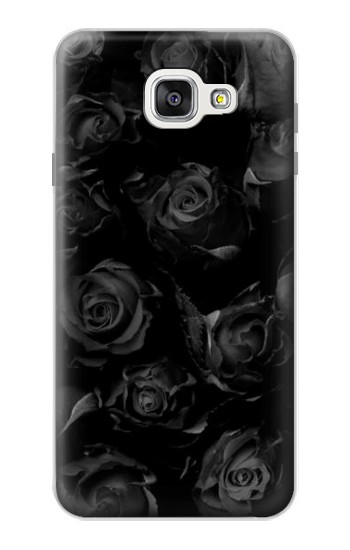 Printed Black Roses Samsung Galaxy A7 (2016) Case