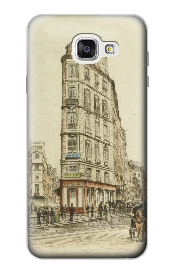 Printed Boulevards of Paris Samsung Galaxy A7 (2016) Case