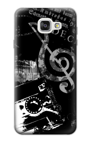 Printed Music Cassette Note Samsung Galaxy A7 (2016) Case
