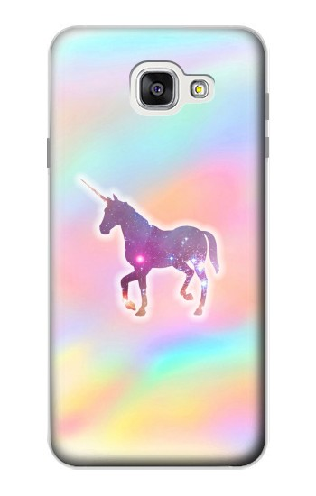 Printed Rainbow Unicorn Samsung Galaxy A7 (2016) Case