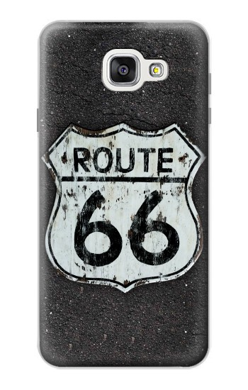 Printed Route 66 Sign Samsung Galaxy A7 (2016) Case