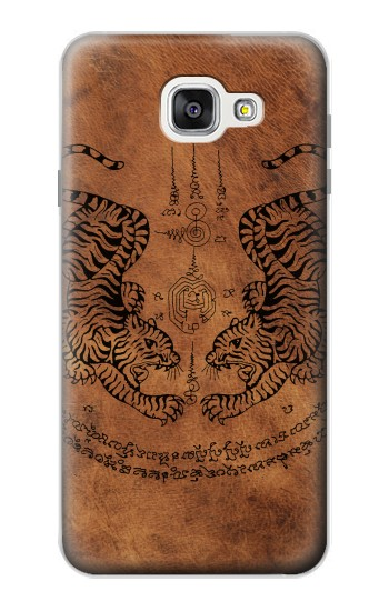 Printed Sak Yant Twin Tiger Samsung Galaxy A7 (2016) Case