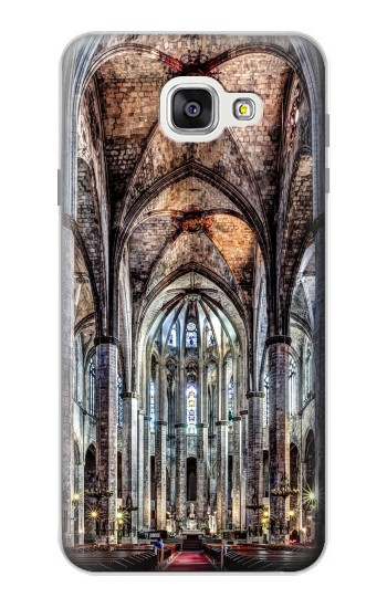 Printed Santa Maria Del Mar Cathedral Samsung Galaxy A7 (2016) Case