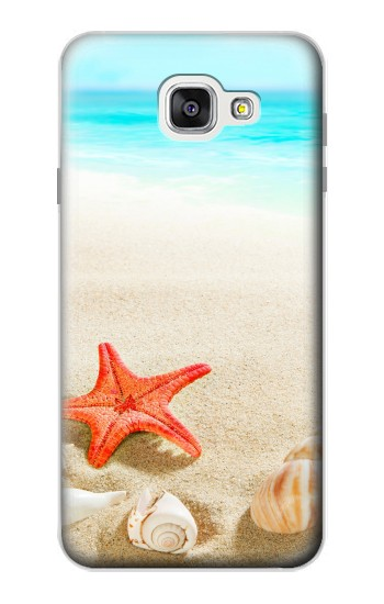Printed Sea Shells Starfish Beach Samsung Galaxy A7 (2016) Case