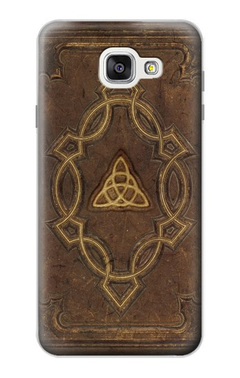 Printed Spell Book Cover Samsung Galaxy A7 (2016) Case