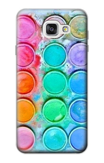 Printed Watercolor Mixing Samsung Galaxy A7 (2016) Case