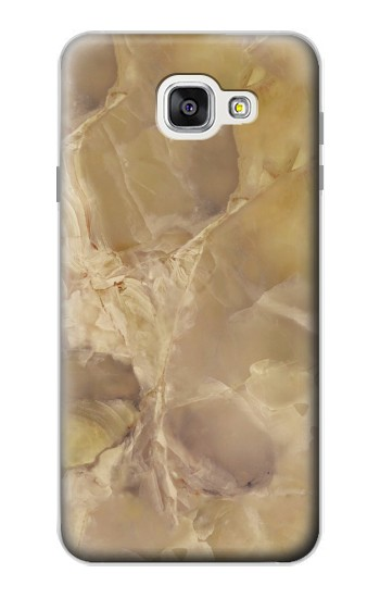 Printed Yellow Marble Stone Samsung Galaxy A7 (2016) Case