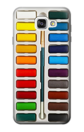 Printed Watercolor Paint Set Samsung Galaxy A7 (2016) Case