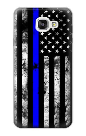 Printed Thin Blue Line USA Samsung Galaxy A7 (2016) Case