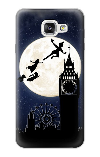Printed Peter Pan Fly Fullmoon Night Samsung Galaxy A7 (2016) Case