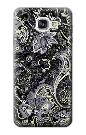 Printed Batik Flower Pattern Samsung Galaxy A7 (2016) Case