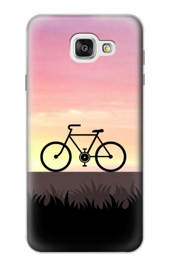 Printed Bicycle Sunset Samsung Galaxy A7 (2016) Case