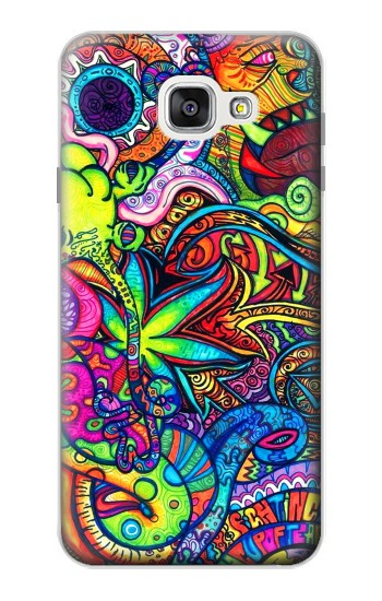 Printed Colorful Art Pattern Samsung Galaxy A7 (2016) Case