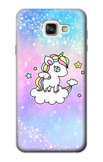 Printed Cute Unicorn Cartoon Samsung Galaxy A7 (2016) Case