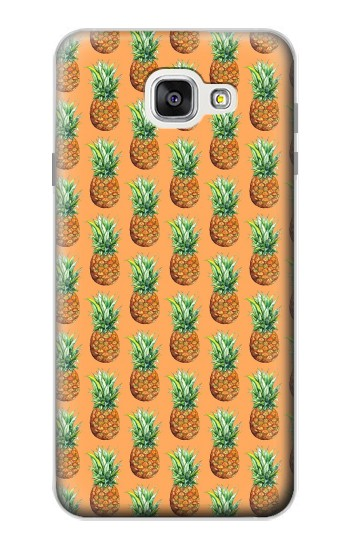 Printed Pineapple Pattern Samsung Galaxy A7 (2016) Case