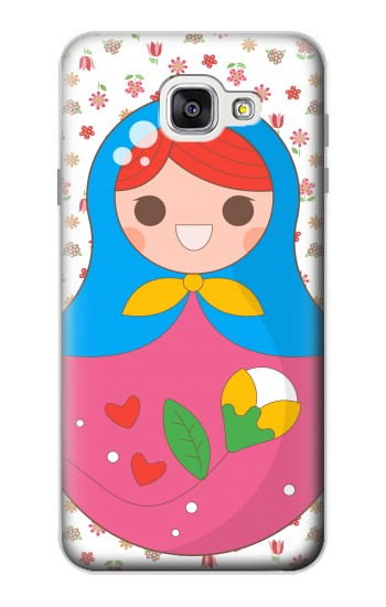 Printed Russian Doll Matryoshka Samsung Galaxy A7 (2016) Case