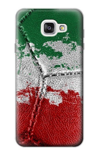 Printed Italy Flag Vintage Football 2018 Samsung Galaxy A7 (2016) Case