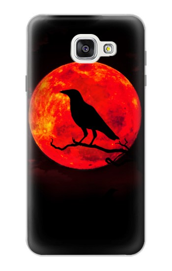 Printed Crow Red Moon Samsung Galaxy A7 (2016) Case