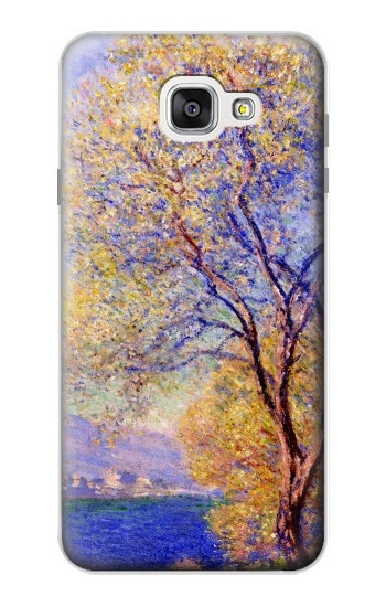 Printed Claude Monet Antibes Seen from the Salis Gardens Samsung Galaxy A7 (2016) Case