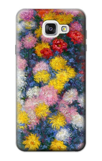 Printed Claude Monet Chrysanthemums Samsung Galaxy A7 (2016) Case