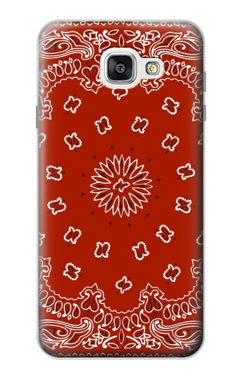 Printed Bandana Red Pattern Samsung Galaxy A7 (2016) Case