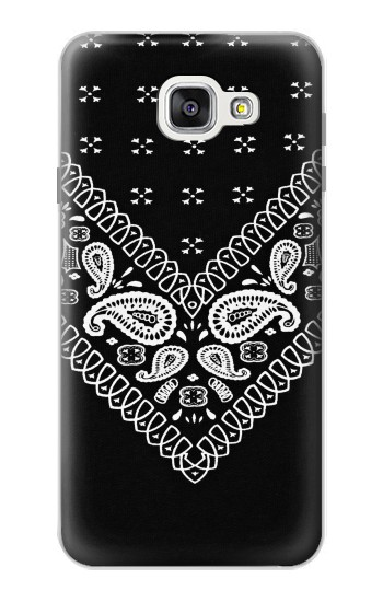 Printed Bandana Black Pattern Samsung Galaxy A7 (2016) Case