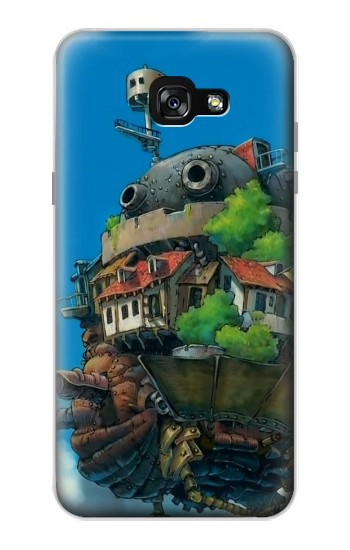 Printed Howl's Moving Castle Hauru no Ugoku Shiro Samsung Galaxy A7 (2017) Case