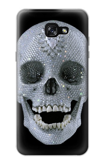Printed Diamond Skull Samsung Galaxy A7 (2017) Case
