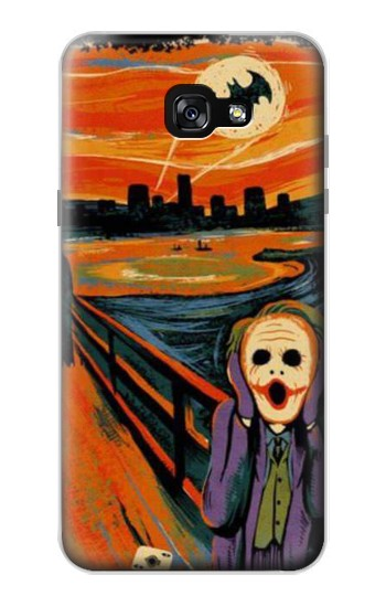 Printed Scream Joker Batman Samsung Galaxy A7 (2017) Case