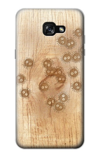 Printed Spirited Away Wood Art Graphic Printed Samsung Galaxy A7 (2017) Case